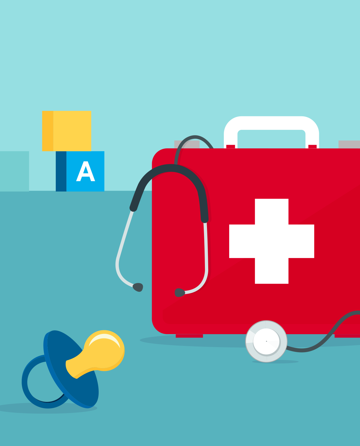 First aid for children and babies - how can you ensure their safety?