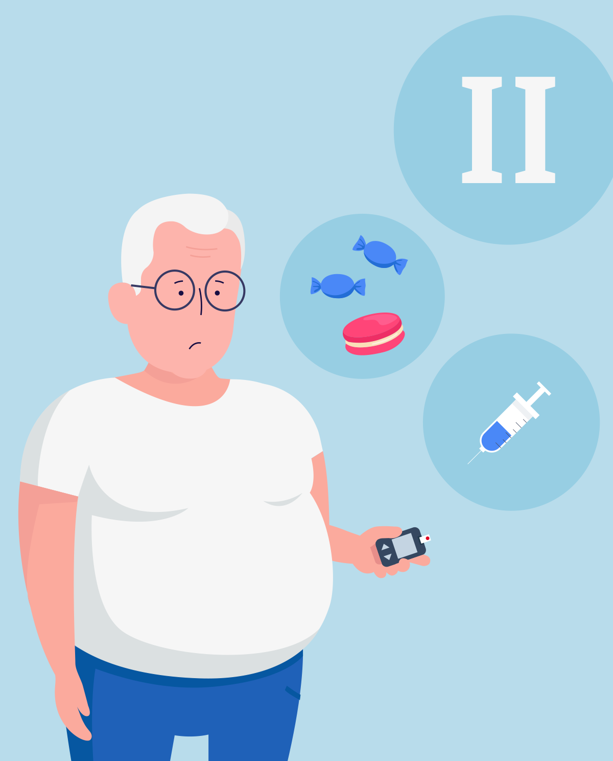 Type 2 diabetes - causes, symptoms and treatment